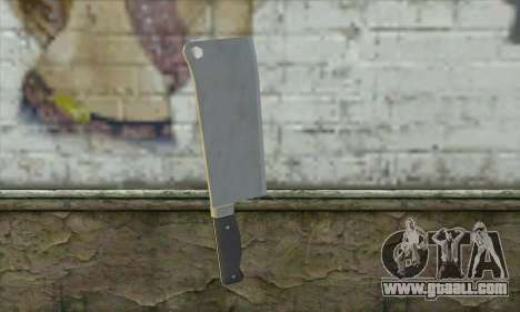 Kitchen knife from Postal 3 for GTA San Andreas second screenshot