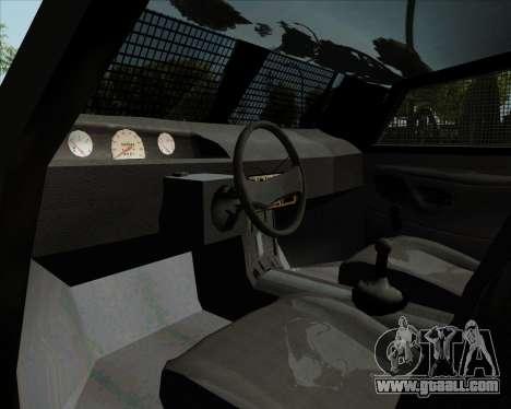 Zorrillo FF.EE for GTA San Andreas back view