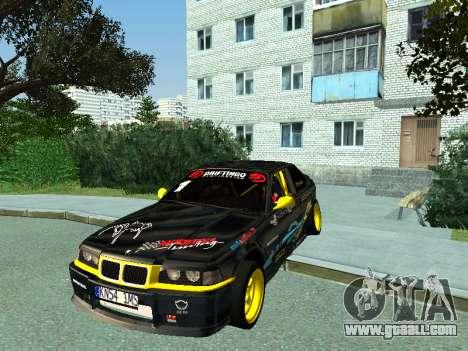 BMW M3 E36 Compact Darius Kepezinskas for GTA San Andreas