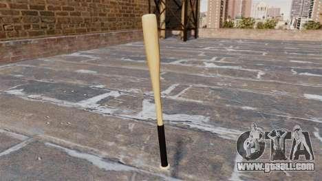 HD wood baseball bat for GTA 4 second screenshot