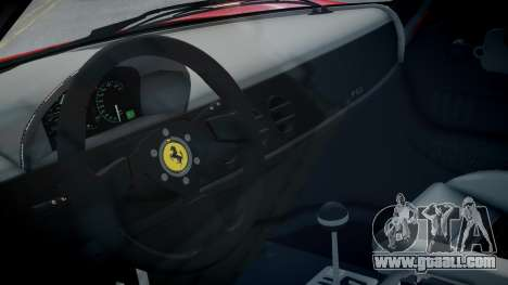 Ferrari F50 1995 for GTA 4 inner view