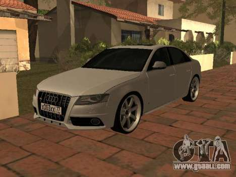 Audi S4 2010 for GTA San Andreas