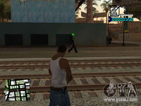 C-HUD by Adam for GTA San Andreas second screenshot