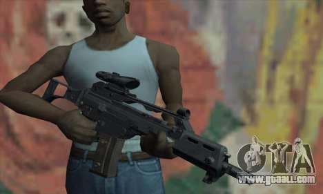 G36C for GTA San Andreas third screenshot