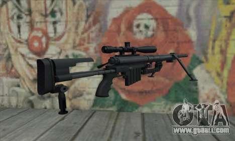Black M200 Intervention for GTA San Andreas second screenshot