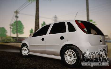 Chevrolet Corsa VHC for GTA San Andreas left view