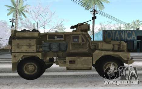 MRAP of BF4 for GTA San Andreas left view