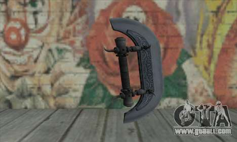 Knuckles - Hatchet for GTA San Andreas second screenshot