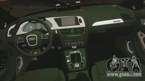 Audi S4 ANPR Interceptor [ELS] for GTA 4 side view