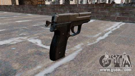 SIG-Sauer P228 Pistol for GTA 4 second screenshot