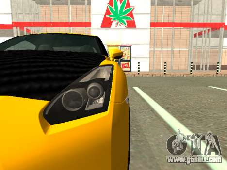 Nissan GT-R AMS Alpha 12 for GTA San Andreas right view