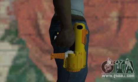 Nerf Gun for GTA San Andreas third screenshot