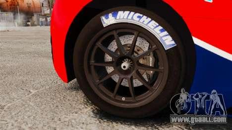 McLaren MP4-12C GT3 for GTA 4 back view