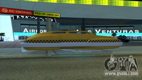 Taxi 5 Element for GTA San Andreas inner view