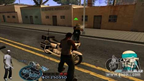 C-HUD Rifa by HARDy for GTA San Andreas third screenshot