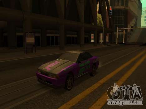 Vinyls for Elegy for GTA San Andreas left view