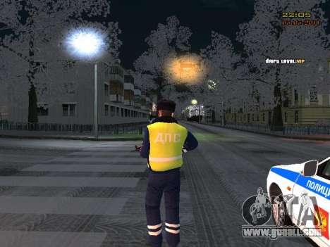 Pak DPS in a winter format for GTA San Andreas third screenshot