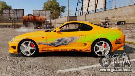 Toyota Supra RZ 1998 (Mark IV) Bomex kit for GTA 4 left view