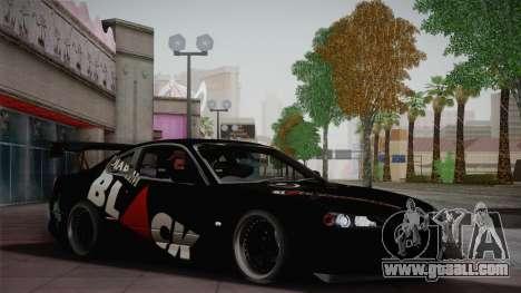 Nissan S15 Street Edition Djarum Black for GTA San Andreas