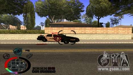 C-Hud Rainbow by HARDy for GTA San Andreas third screenshot