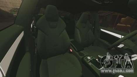 Audi S4 ANPR Interceptor [ELS] for GTA 4 upper view