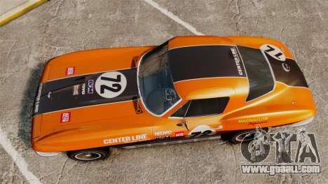 Chevrolet Corvette C2 1967 for GTA 4 right view