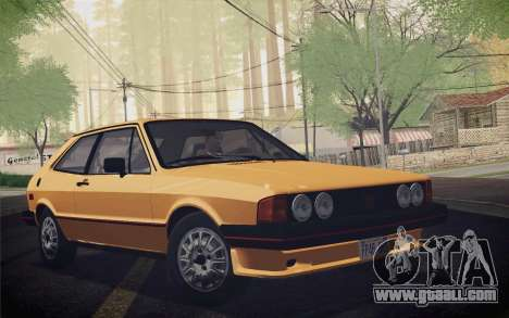 Volkswagen Scirocco S (Typ 53) 1981 IVF for GTA San Andreas right view