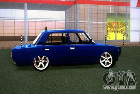 VAZ 2107 for GTA San Andreas back view
