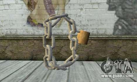 Chain for GTA San Andreas second screenshot