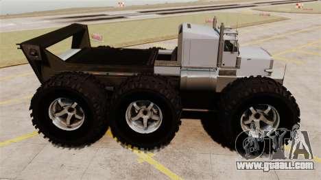 The Biggest Monster Truck for GTA 4 left view