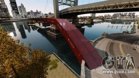 New bridge in East island city for GTA 4