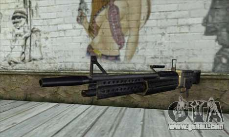 Gun for GTA San Andreas