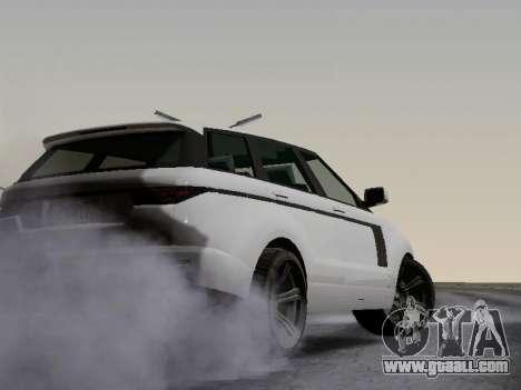 Baller 2 из GTA V for GTA San Andreas inner view