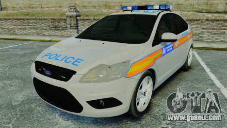 Ford Focus Metropolitan Police [ELS] for GTA 4