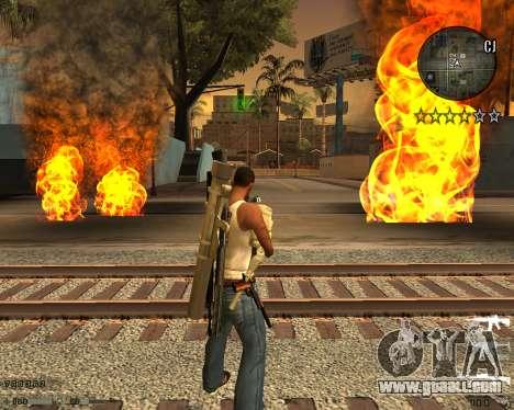 C-HUD CS:GO for GTA San Andreas