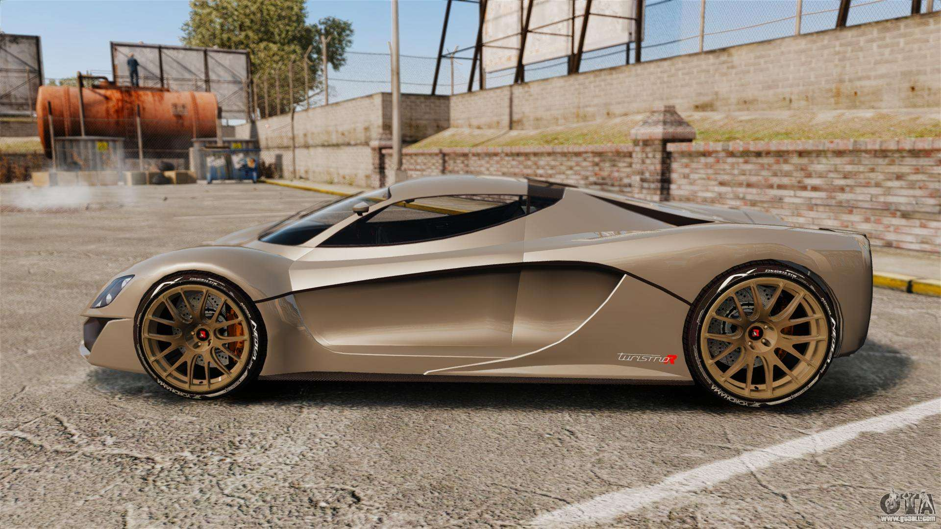 Turismo Car: GTA V Grotti Turismo R V2.0 [EPM] For GTA 4