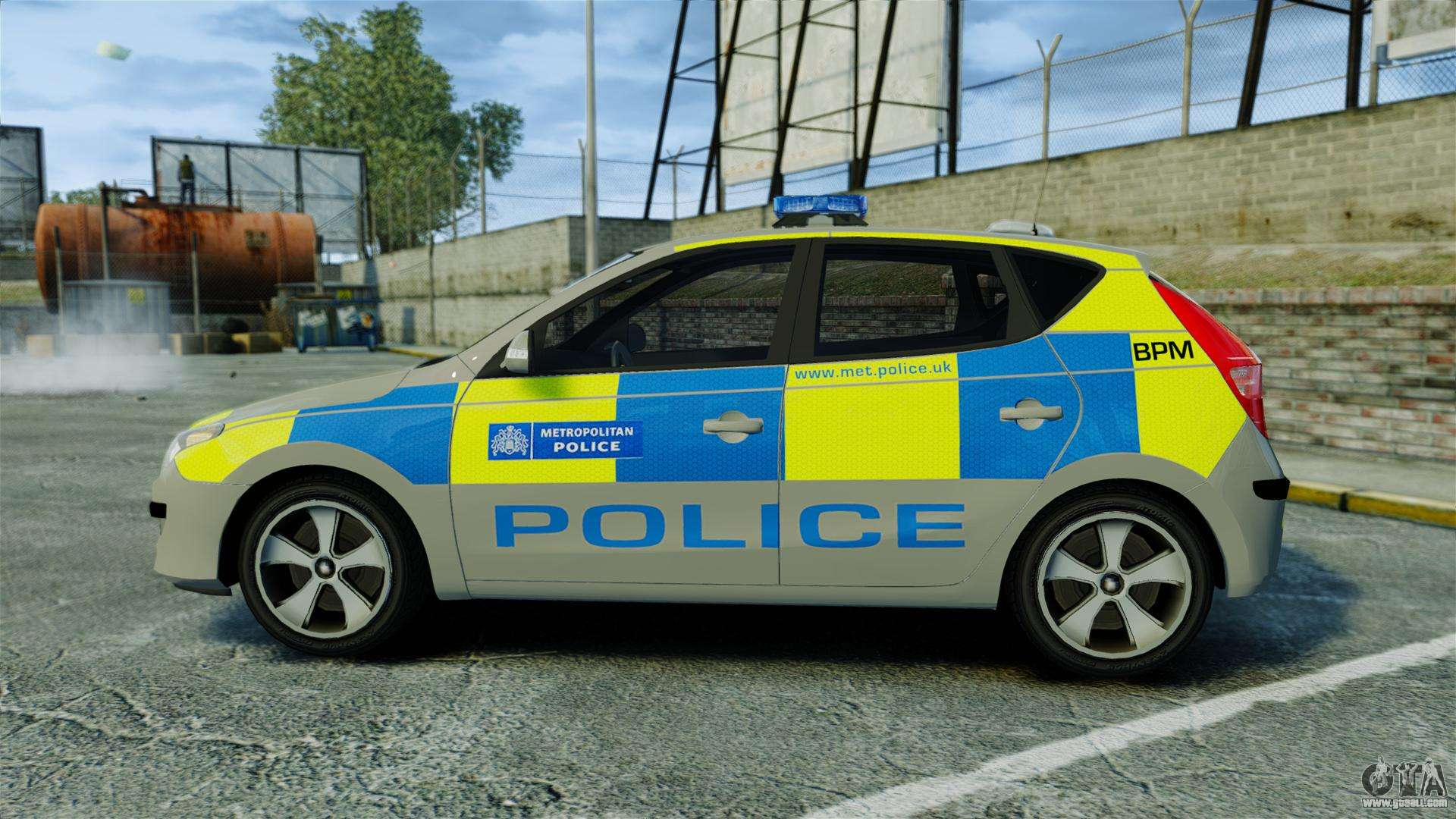 hyundai i30 metropolitan police els for gta 4. Black Bedroom Furniture Sets. Home Design Ideas