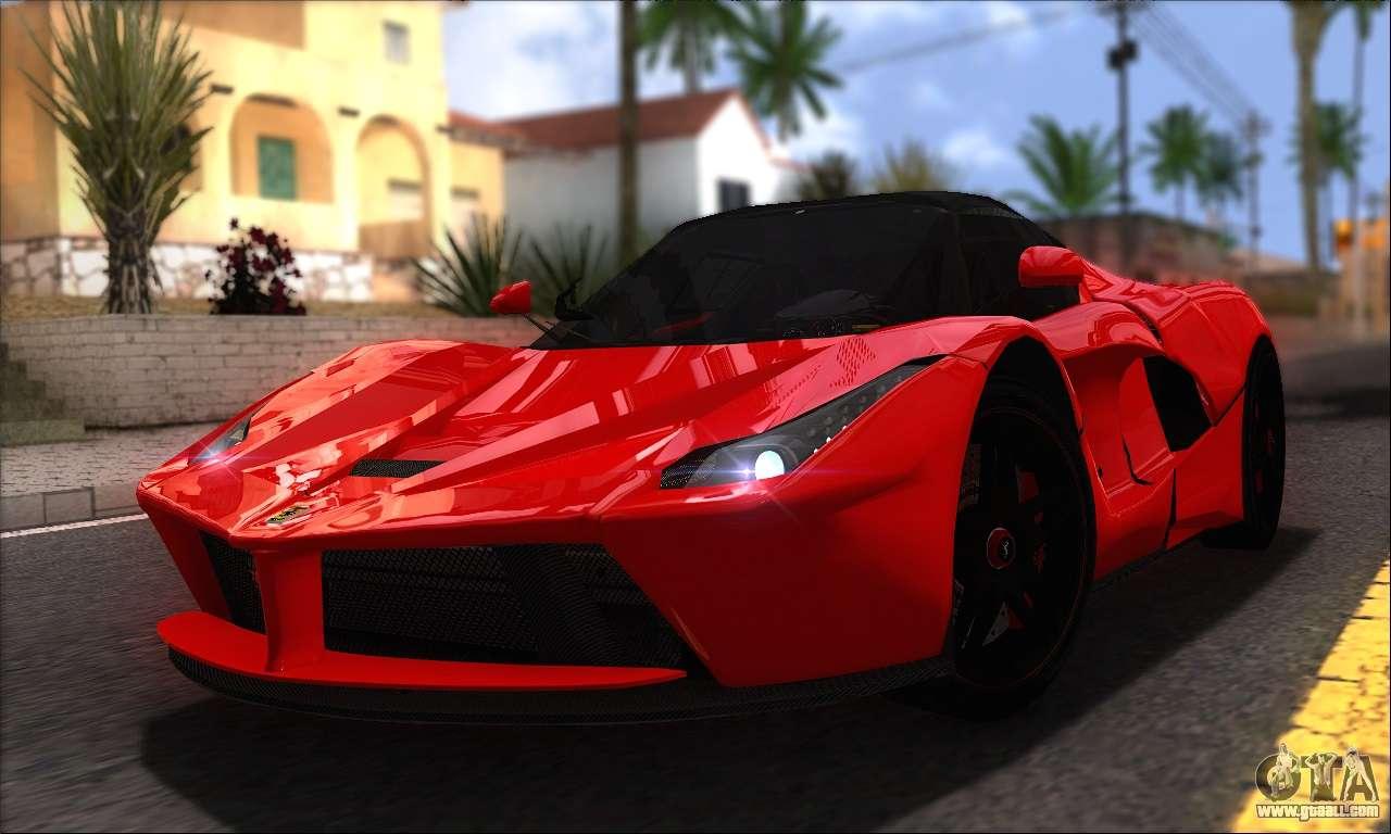 Ferrari Laferrari V1 0 For Gta San Andreas