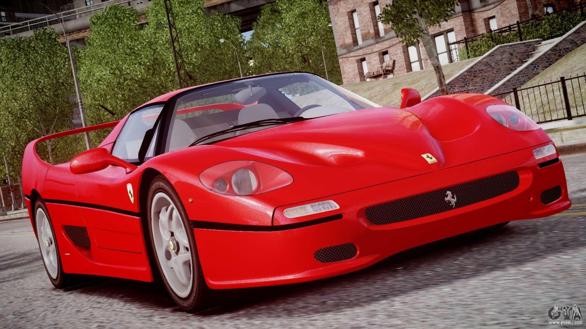 Ferrari Of Washington >> Ferrari F50 1995 for GTA 4