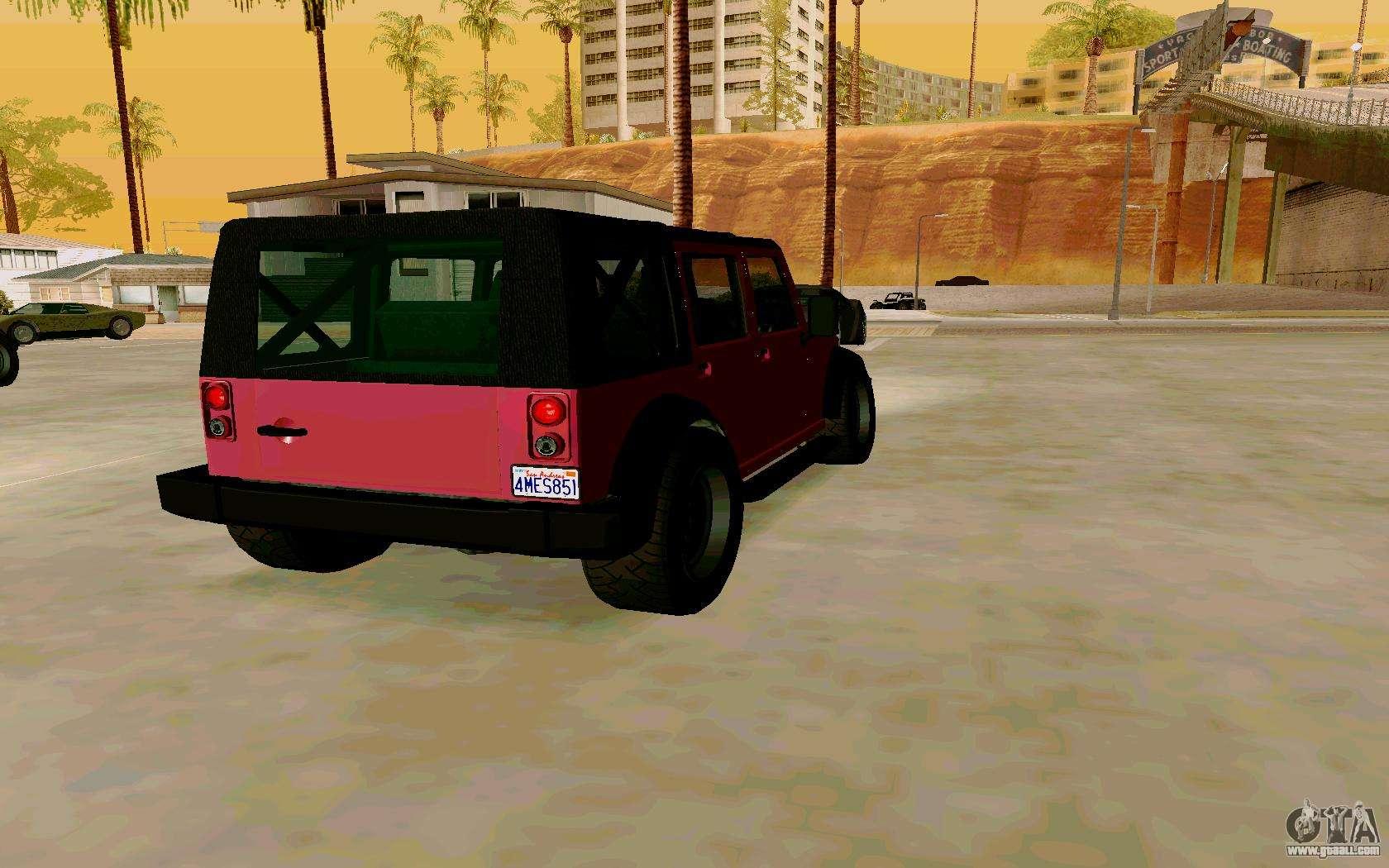 Gta V Mesa For Gta San Andreas