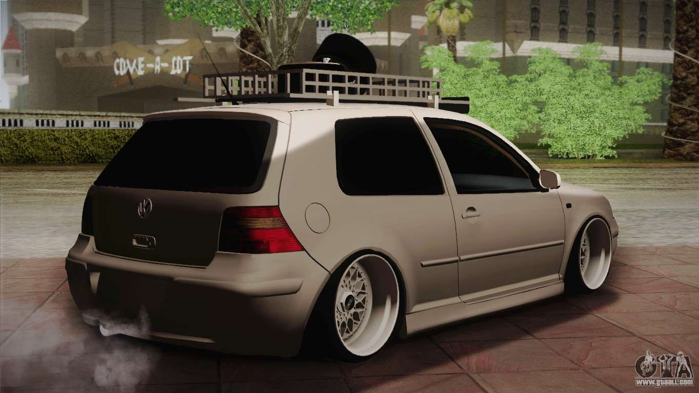 volkswagen golf iv hellaflush for gta san andreas. Black Bedroom Furniture Sets. Home Design Ideas