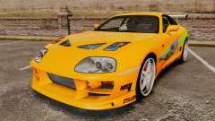 Toyota Supra RZ 1998 (Mark IV) Bomex kit for GTA 4