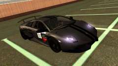 Lamborghini Murcielago LP670-4 SV Team Ravenwest for GTA San Andreas