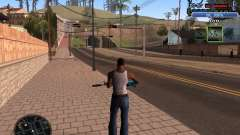 С-HUD Old Rifa for GTA San Andreas