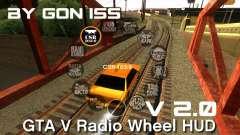 GTA 5 Radio HUD