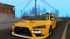 Mitsubishi Lancer X Evolution for GTA San Andreas