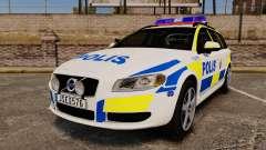 Volvo V70 II Swedish Police [ELS]