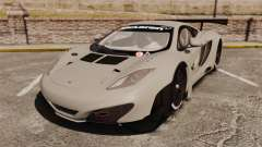 McLaren MP4-12C GT3 Blank for GTA 4