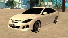 Mazda 6 2010 for GTA San Andreas
