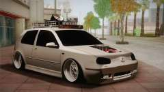 Volkswagen Golf IV Hellaflush for GTA San Andreas